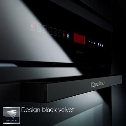Design black velvet