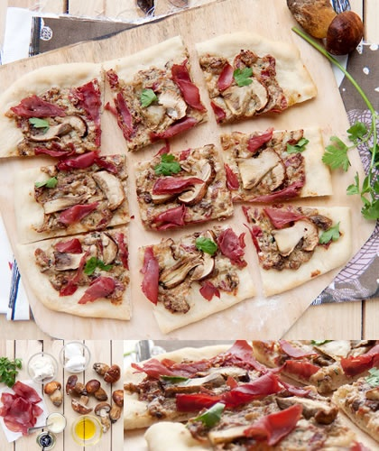 recette de pizza