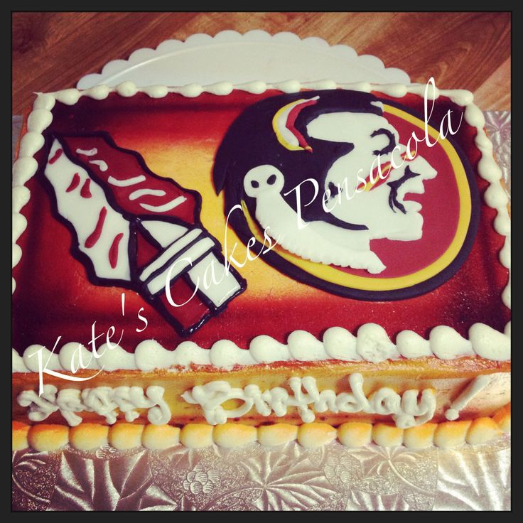 FSU Seminole Cake Kates Cakes