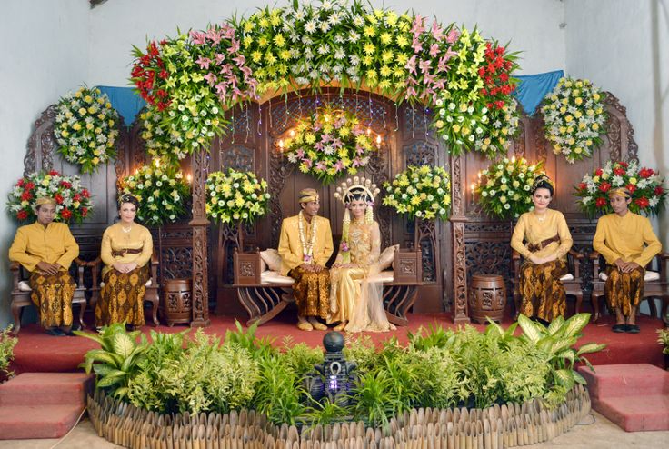 the wedding stage decoration