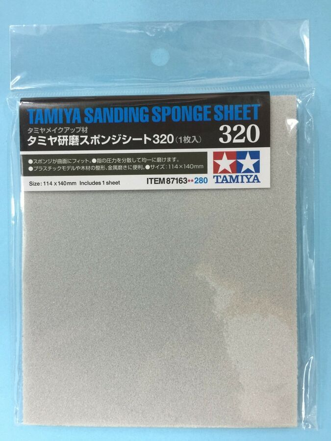 Details About Tamiya 5mm Sanding Sponge Sheet Grit Size 180 3000 Metal Wood Plastic Model Jp Sanding Sponges Sponge Sanding