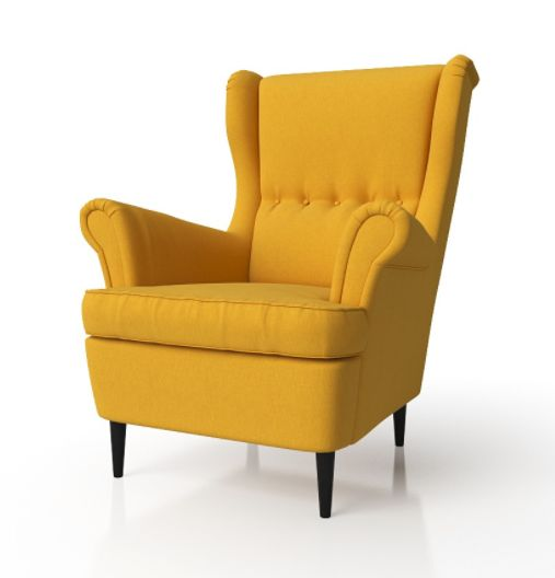 Кресло, желтое, СТРАНДМОН, IKEA