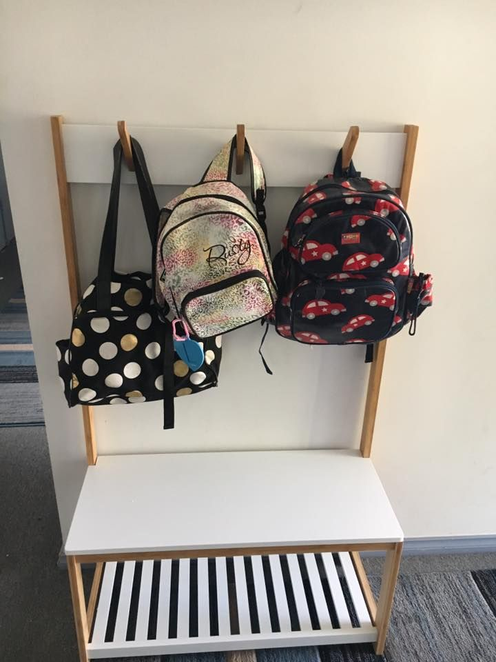 Practical and effective school bag storage and organisation ideas to help keep everything school related easily locatable, organised and tidy in one spot.