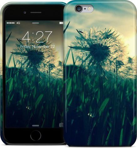 Dandelion Sunset / Pustblumen Sonnenuntergang by Pictures for the wall - iPhone Cases & Skins - $35.00