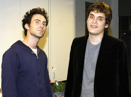 A much younger Adam Levine & John Mayer! Together!