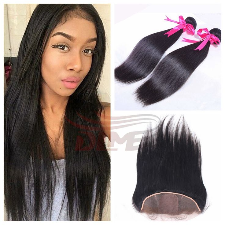 7a Grade Brazilian Virgin Hair Silk Base Frontal With 2
