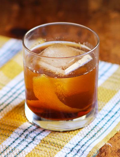 Two simple ingredients, whiskey and cider syrup, combine to make a powerfully good drink.
