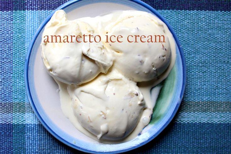 Blackberry Ice Cream With Amaretto Recipes — Dishmaps