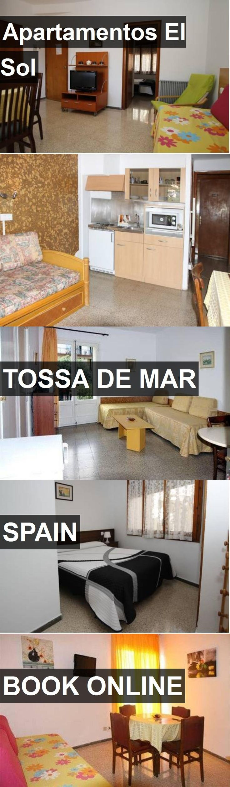 Hotel Apartamentos El Sol in Tossa de Mar, Spain. For more information, photos, reviews and best prices please follow the link. #Spain #TossadeMar #travel #vacation #hotel