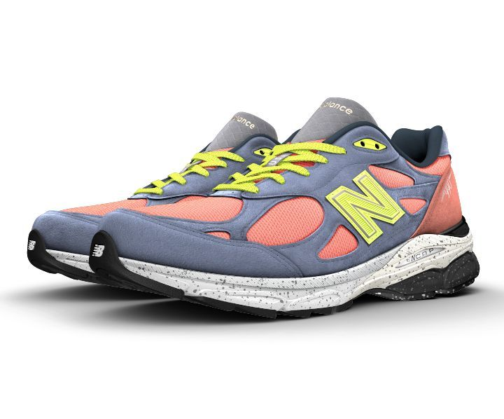 new style 02ce9 bc1d0 ... Balance Men s 990 Running Shoes from Finish Line NB1 990v3. New  BalanceShoe .