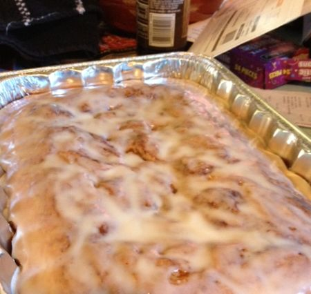 Honey Bun Cake - a better version of those packaged pastries. You'll be pleased with how simple this is to make!