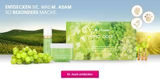 M. ASAM® - IHR KOSMETIK ONLINE SHOP FÜR HOCHWERTIGE PFLEGE