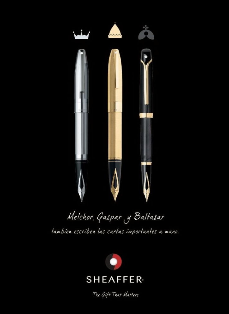 Campaña de Publicidad y Diseño Gráfico para Sheaffer