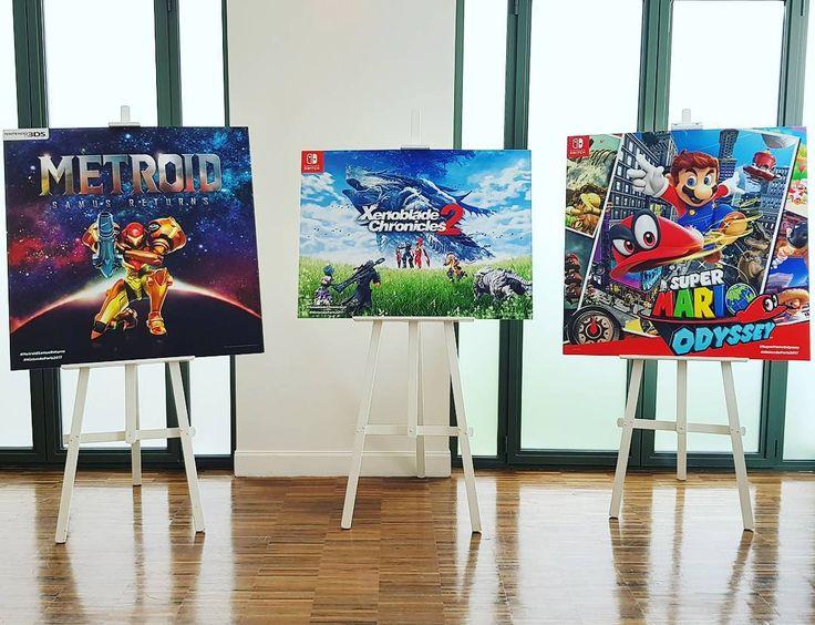 Une partie du lineup ultra solide de #Nintendo prévu pour cette année ! --------------------------- #jeuxvideo #videogames #nintendoswitch #game #gamer #gaming #instagaming #instagamer #console #mario #metroid #samus #marioodyssey #jeux #joycon #3ds #instadaily #picoftheday #xenoblade #rpg #nintendoparis2017