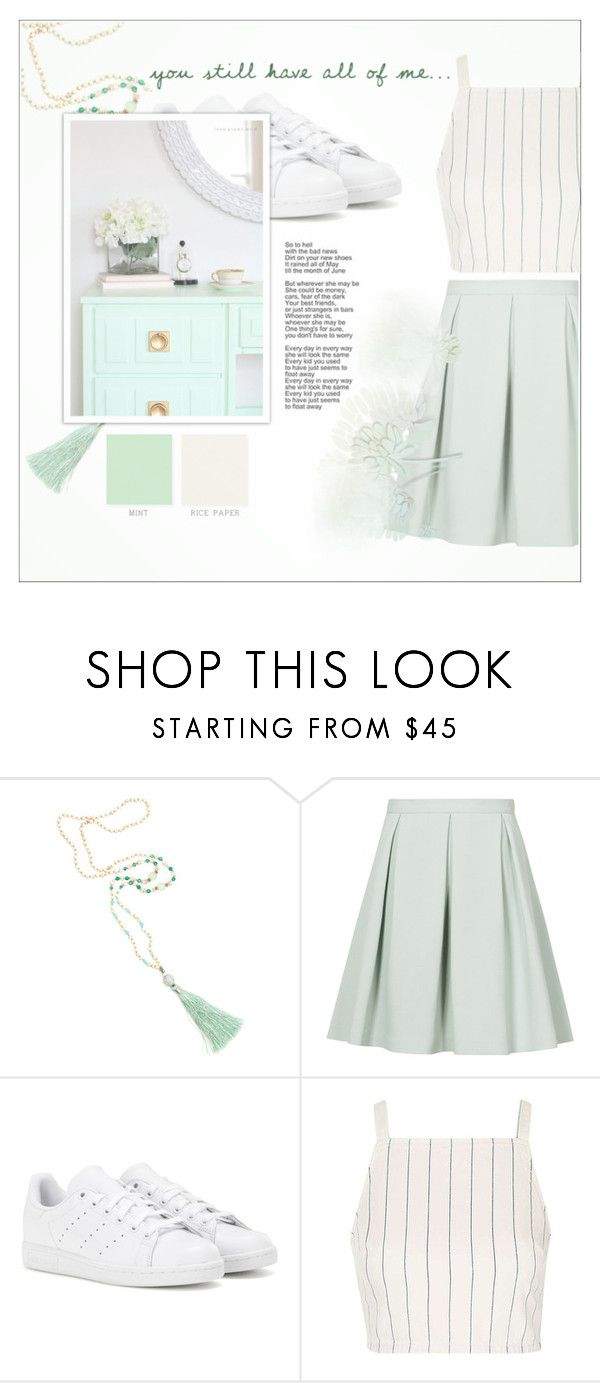 """♡ THANK YOU FOR 1000+ FOLLOWERS"" by fernweeh on Polyvore featuring moda, Reiss, adidas i Topshop"