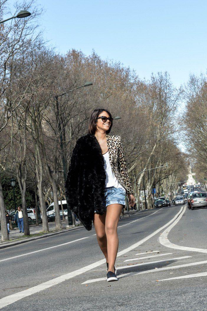#lisbon #walking #fashion #style #shorts #look #inspiration #summer #winter #leopard #patterns