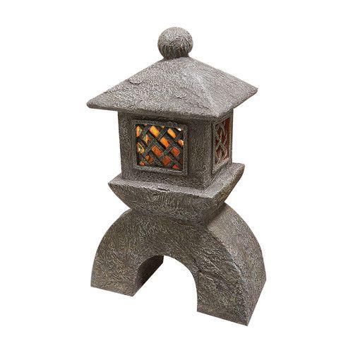 Found it at Wayfair - Japanese Pagoda Illuminated Lantern Statue