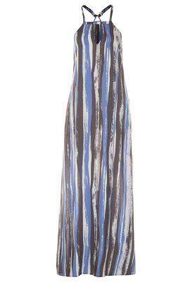 Fotsid kjole - blå