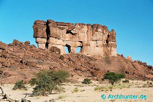 Mask Rock-Tschad