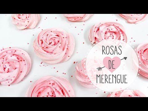 Cómo hacer merenguitos o suspiros con forma de rosas