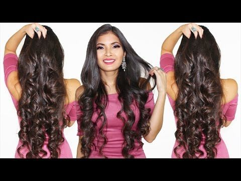 Como Rizar El Cabello En 5 Minutos ⏱ Parte #1 Bessy Dressy - YouTube