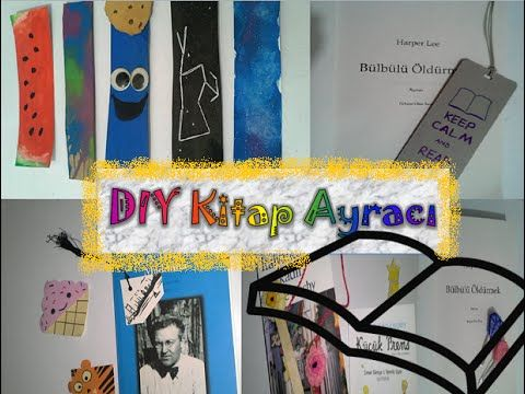 Kendin Yap Kitap Ayracı Tumblr,Eğlenceli,Renkli/ DIY Tumblr,Unique and F...