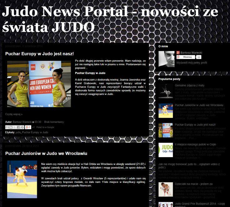 http://judo-portal.blogspot.com/ Blog Judo News Portal - nowości ze świata JUDO