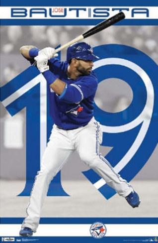 Toronto Blue Jays Jose Bautista Poster