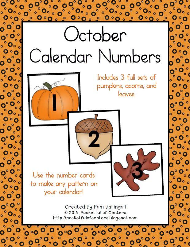 October Calendar Kindergarten : Best images about kindergarten morning meeting