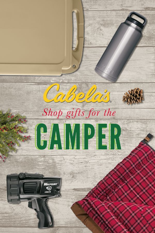 Shop gifts for the Camper this Christmas!