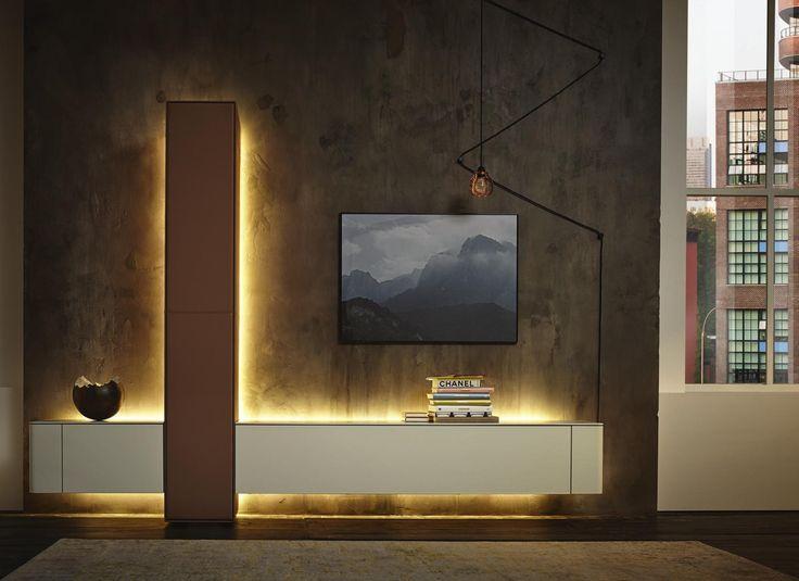 Möbel wohnzimmer hülsta  Die besten 25+ Tv wand hülsta Ideen auf Pinterest | Lcd ...