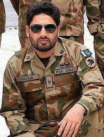 Major Shoaib .. martyr Of Pakistan Army .. We R Proud Ov You