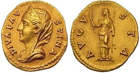 Faustina Sr., Augusta 25 February 138 - Early 141, Wife of Antoninus Pius