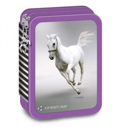 Vásárlás: Ars Una Dream Bar - Fehér lovas, emeletes tolltartó (92666108) Tolltartó árak összehasonlítása, Dream Bar Fehér lovas emeletes tolltartó 92666108 boltok