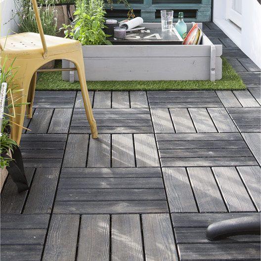 25 best ideas about dalle pour terrasse on pinterest for Terrasse bois clipsable