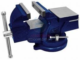 MODECO forgatható asztali satu 100 mm, 7 kg acél, profi (N35214)