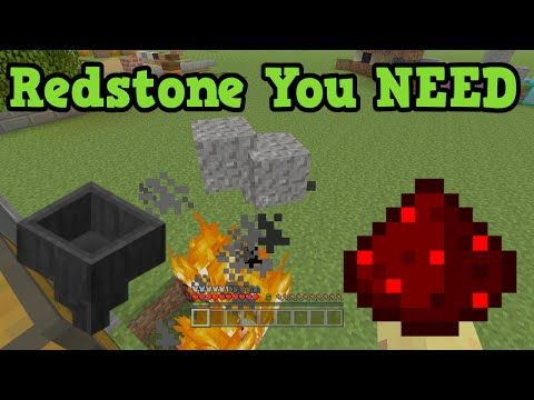 Minecraft 5 Simple Redstone Creations you NEED! - YouTube