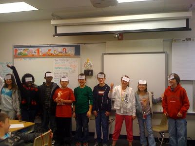 Index cards on their foreheads with planet names and they have to put themselves in the correct order. I love it!