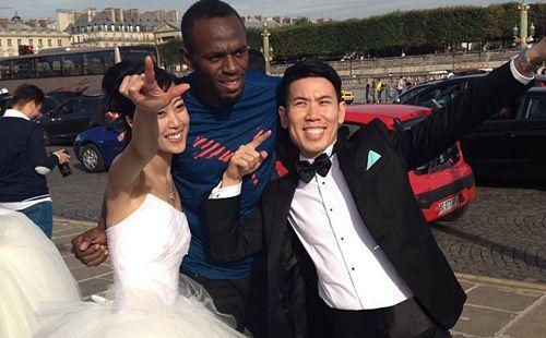 Usain Bolt, Wedding Crasher
