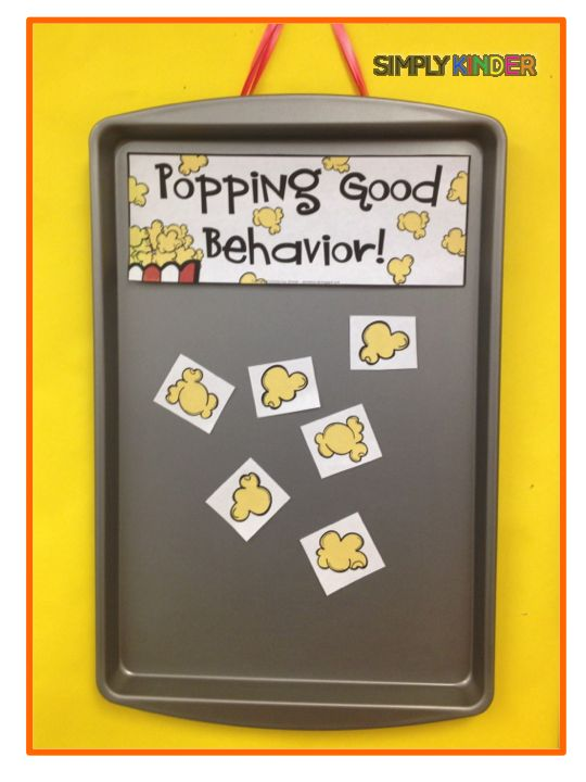 Students earn popcorn for behaviors that are desired.  Great behavior management system for the whole class!