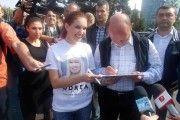 Elena Udrea ii multumeste Presedintelui Basescu
