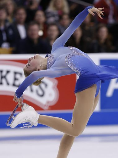 Gracie Gold. A lot of pressure comes with that last name when you're an aspiring Olympian. But Gold has momentum, outskating the defending U.S. Figure Skating champ, Ashley Wagner, in the trials leading up to Sochi — and racking up a personal best point total.