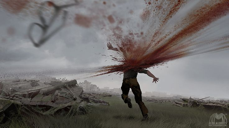 Roadside Picnic 03 by alexandreev.deviantart.com on @DeviantArt  (Please pardon the gore, I don't like violent things but I thought this was like really cool with how it was all in motion. I'm sorry and if any of my followers do not like it, I'll delete this no problem)