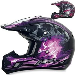 2014 AFX FX-17 Inferno MX ATV Dirt Bike Off Road Protection Motocross Helmets