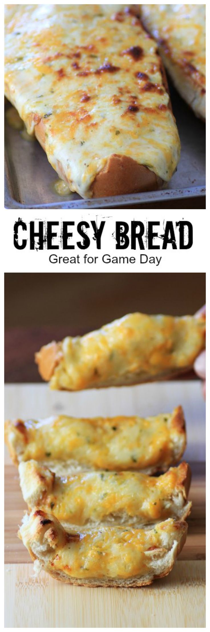 Mouth Watering Mondays - Cheesy Bread