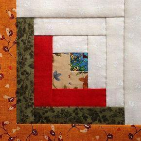 Log Cabin – Curso patchwork gratis – Ana Leal Patchwork