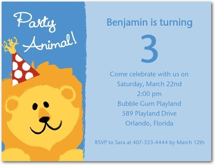 14 best boys first birthday blue lion images on pinterest birthday party invitations happy lion front light blue filmwisefo