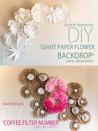 After several requests to create a Giant Paper Flower backdrop with different sized flowers, I've finally put together a full collection and it's available for you now on my Etsy shop. I also re-designed Rose III; I believe the new version is even more beautiful than the original. One of …