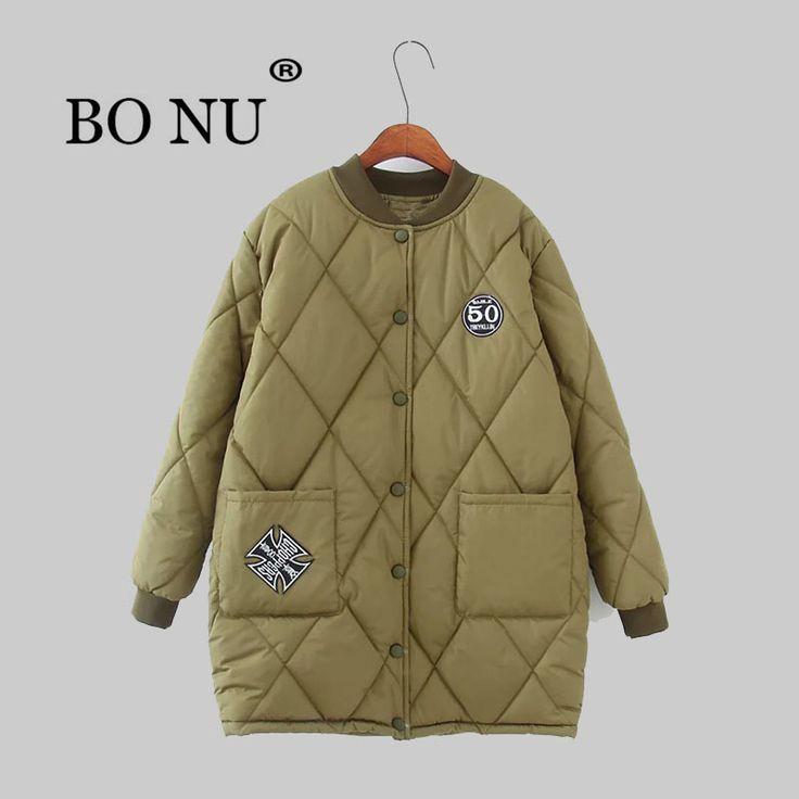 BO NU 2018 New Winter 4XL Long Parka Warm Plus Size Down Parka Female Jacket Oversize Coat Women's windbreaker Women Coat #Affiliate