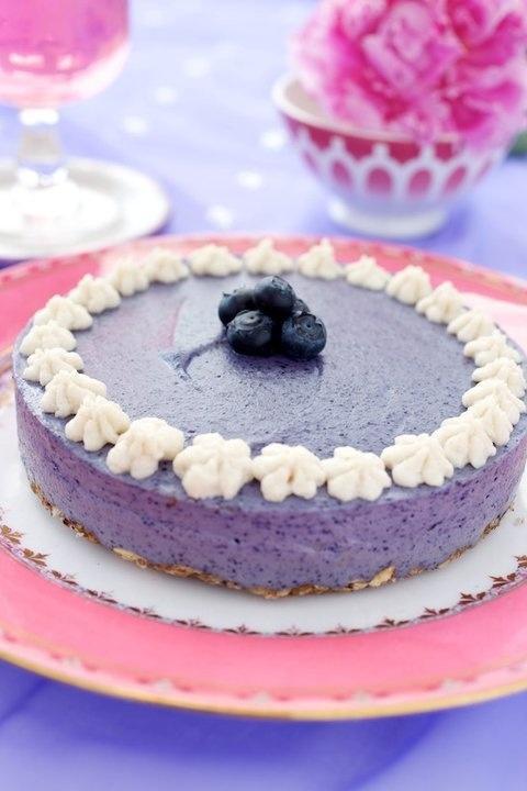 Raw Blueberry Dream Cake